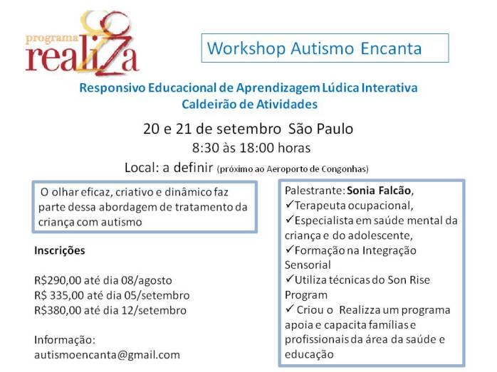 Workshop Autismo Encanta setembro 3